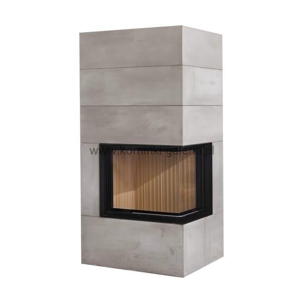 kominek brunner bsk 02 eck z ciep obudow nowoczesny naro ny kominek drzwi unoszone prawe. Black Bedroom Furniture Sets. Home Design Ideas